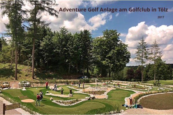 Adventure Golf am Golfclub in Bad Tölz