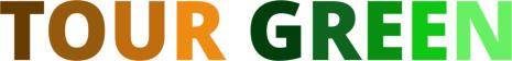 Tour Green Golfgreen Logo